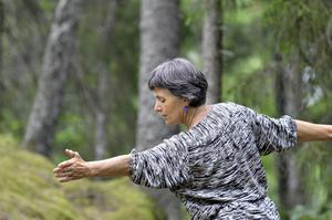 En upplevelse. Dansa natur är härligt tycker Elisabeth Johansson.