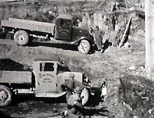 Sensommaren 1935 grävs grunden för LT-huset på Rådhusgatan 37.