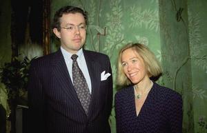 Hans Kristian Rausing och hans fru Eva Rausing. Arkivbild.