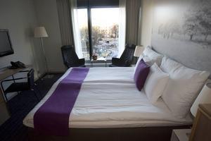 Hotellrummet på bilden tillhör inte hotellet där sexköpen har ägt rum.