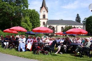 Avesta församlingsgård, nationaldagsfirande 2011.