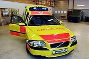 ARKIVBILD S80-tillverkningen upphör i Sandviken. Med Volvos nya ambulans baserad på storbilen S80 hoppades Wiman Ambulance i Sandviken att erövra Europa. Efter drygt ett och ett halvt år flyttas nu tillverkningen till Laholm.
