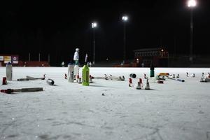 Den nya bandyisen på Östersund Arena fortsätter att vara ett stort problem.
