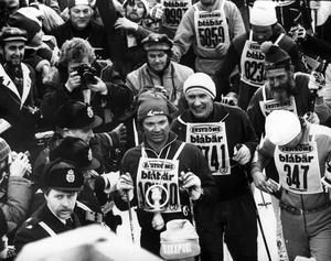 Carl XVI Gustaf åker Vasaloppet 1977.