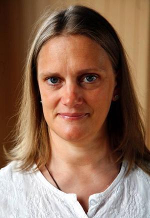 Åsa Holgén, ska lära vårdpersonal yoga.