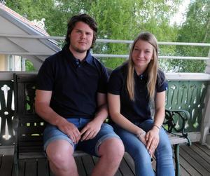 Isak Willman och Moa Olsson är året kransmas och kranskulla i Vansbrosimningen.
