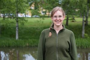 Emma Matschoss-Falck, VA-ingenjör på Heby kommun.