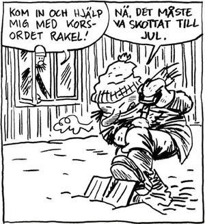 Mats Källblad debuterade 1992, gav ut sin första seriebok 1995, har fått en rad priser och i helgen öppnar han en utställning med sina bilder på länsbiblioteket.