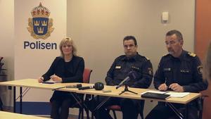 På måndagen höll polisen presskonferens med anledning av en rad brott mot kvinnor i Östersund.