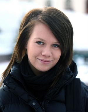 Frida Nyman, 16, gymnasieelev, Sundsvall: