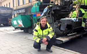 Mikael Johansson, projektledare, gatukontoret.