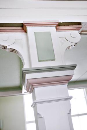 Läckra pelare i stora salen
