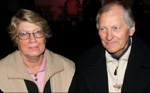 Margareta och Larsåke Haglund från Borlänge.Det är alltid roligt på Oktoberfesten, vi har varit här flera år tidigare.