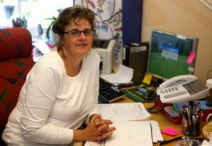 Bodil Petersén är smittskyddssköterska hos Region Dalarna. Foto: Daniel Eriksson