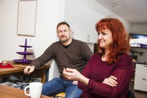 Patrik Vestin och Ann-Catrin Zakrisson hoppas på ett publikt lyft för det som i dag heter Bredbyns kultur- och fritidsgård.