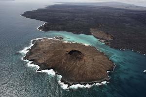 Galapagos sett ovanifrån.