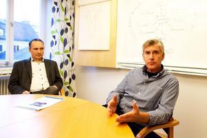 Fredrik Lundvall och Per Lundgren har gjort en pilotstudie bland SFI-studenter. De flesta svarar att bra hälsa och att vara med i familjen är de viktigaste sakerna för att må bra.