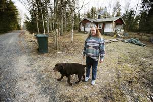 Både när Inger Mattsson skulle bli hämtad i Rånäs och när hon skulle hem igen på kvällen var den förbeställda färdtjänsten sen.