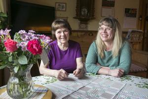Bibbi Backlund och Liza Korsgren är väldigt tacksamma för det engagemang som visats i sökandet.