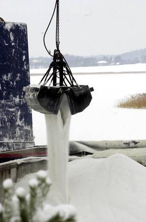 Per Edström tycker det är konstigt att väga saltas. Salt förstör grundvatten och mark, anser han.