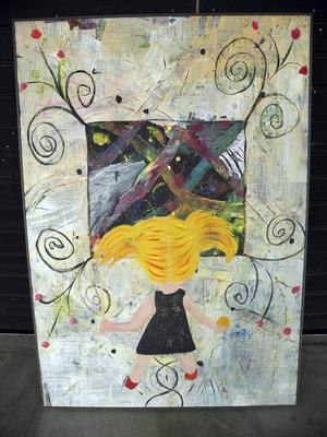 Målning av Karin Hoppe Storck .