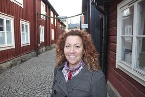 Fin gest. Tove Nilsson, personlig assistent i Västerås, fick äta julbord.