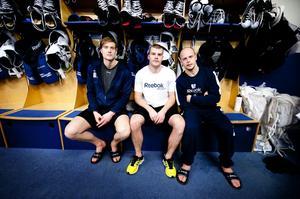 Johan Ryno, Patrik Hersley och Oscar Alsenfelt fick lämna Modo – nu gör trion succé i Leksand och i kväll möter de sitt gamla lag.