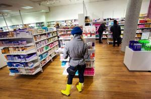 Försäljning av produkter som har med skönhet att göra har klarat trycket från lågkonjunkturen.Foto: Håkan Luthman