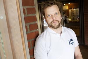 Jonas Jonasson, adjunkt på Mittuniversitetet föreläste om hållbart byggande.