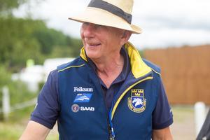 Tävlingsledare Gerhard Winroth var på ett strålande humör.