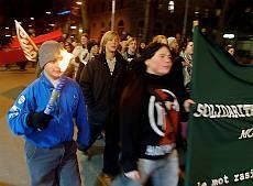 Lugna manifestationer mot rasism