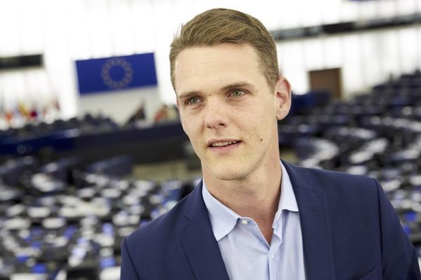 Christofer Fjellner (M) EU-parlamentariker