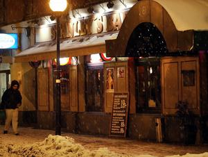 Stanley's bar.