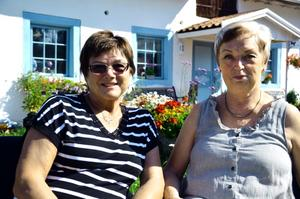 Partners. Från att ha varit kollegor inom vården är nu istället Raija Larsson och Lilan Berggren butiksägare.