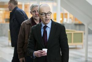 Kammaråklagare Johan Fahlander var nöjd med utgången av fredagens häktningsförhandling.