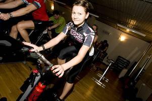 KUL! Lina Blomqvist laddar inför cykelsäsongen.