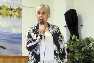 Maj-Lis Burtus valdes till ny ordförande för SPF Mora i samband med föreningens årsmöte.