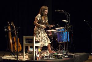 Multiinstrumentalisten Theresa Andersson.