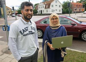 Mobyen Uddin Ahmed och Shahina Begum, som är forskare på Mälardalens högskola, ska testa 90 personer om riskbeteenden i trafiken. Testerna genomförs både under stress och med alkohol i kroppen.