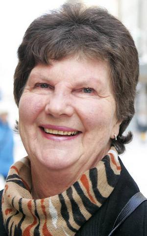 Elisabeth Ericson,…67 år, Pilgrimstad:– Ja, det tycker jag väl kanske att man gör. Just det här att vara frisk. Man vill ju hålla krämporna på avstånd och orka med barnbarnen och umgänget.