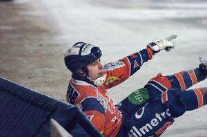 Patrik Larsson och Bollnäs föll strax före