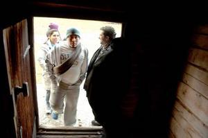 Fransisco Javier från Nicaragua fick lära sig om Jämtland förr i världen på Jamtli.