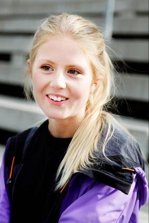 Gymnasieeleven Lina El Kott Helander är Östersunds färskaste motionsloppsarrangör.