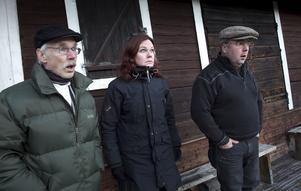 S: Nu vart de riktigt stôss, Petters-Börje, Cia och Lennart.