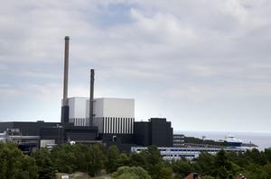 Kärnkraftverket i Oskarshamn.