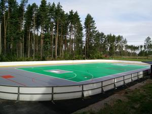 Multirinken i Älvkarleby är klar och nästa projekt blir en konstgräsplan år 2016.