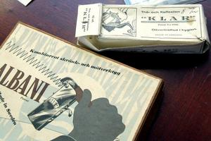 Skränk- och mätverktyg för sågblad och te- och kaffesil hörde till EIA:s tidiga sortiment.