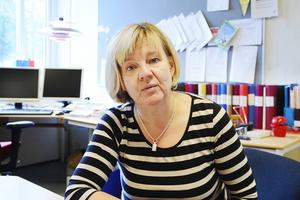 Heidi Sundelin, rektor, säger att beslutet att stänga ute KP inte har med deras politik att göra.