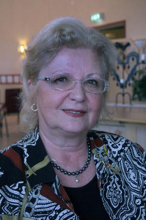 Kyrkorådets ordförande Monica Robin Svensson känner att det blåser medvind för orgelprojektet då stiftet ger kyrkoantikvarisk ersättning. Arkivfoto: Sven-Erik Jönsson