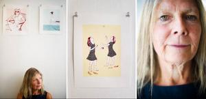 Britt Hillbom betonar vikten av lek och kreativitet även i vuxen ålder.